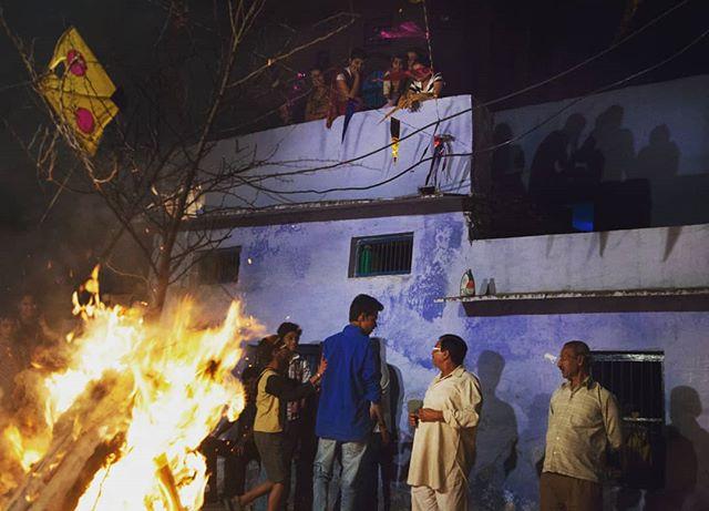 Holi Eve, Bundi, Rajasthan 2015