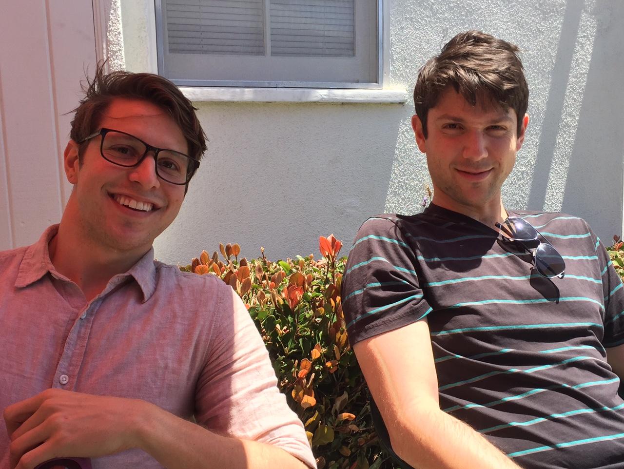 Thomas & David C in sun.jpg