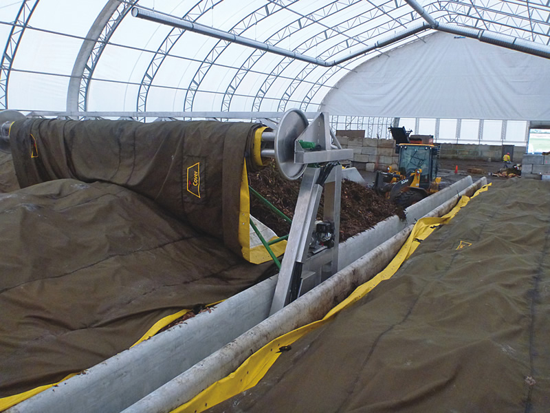 Net Zero Waste Abbotsford (British Columbia) composting facility
