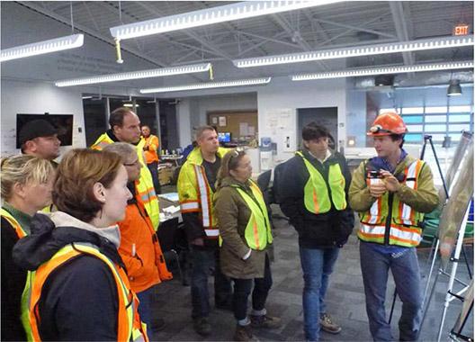 Tour of Harvest Power - Site Layout Explanation