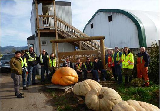 Group Photo with Aaron Joe from Salish Soils