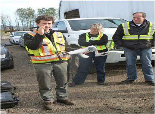 Fieldwork - Nasal Ranger and Odour Control Scope