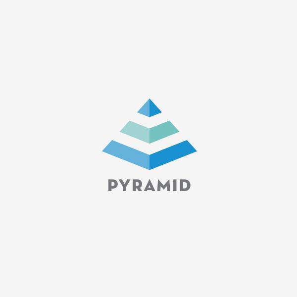 evrybdy logo design branding seattle pyramid corin mcdonald
