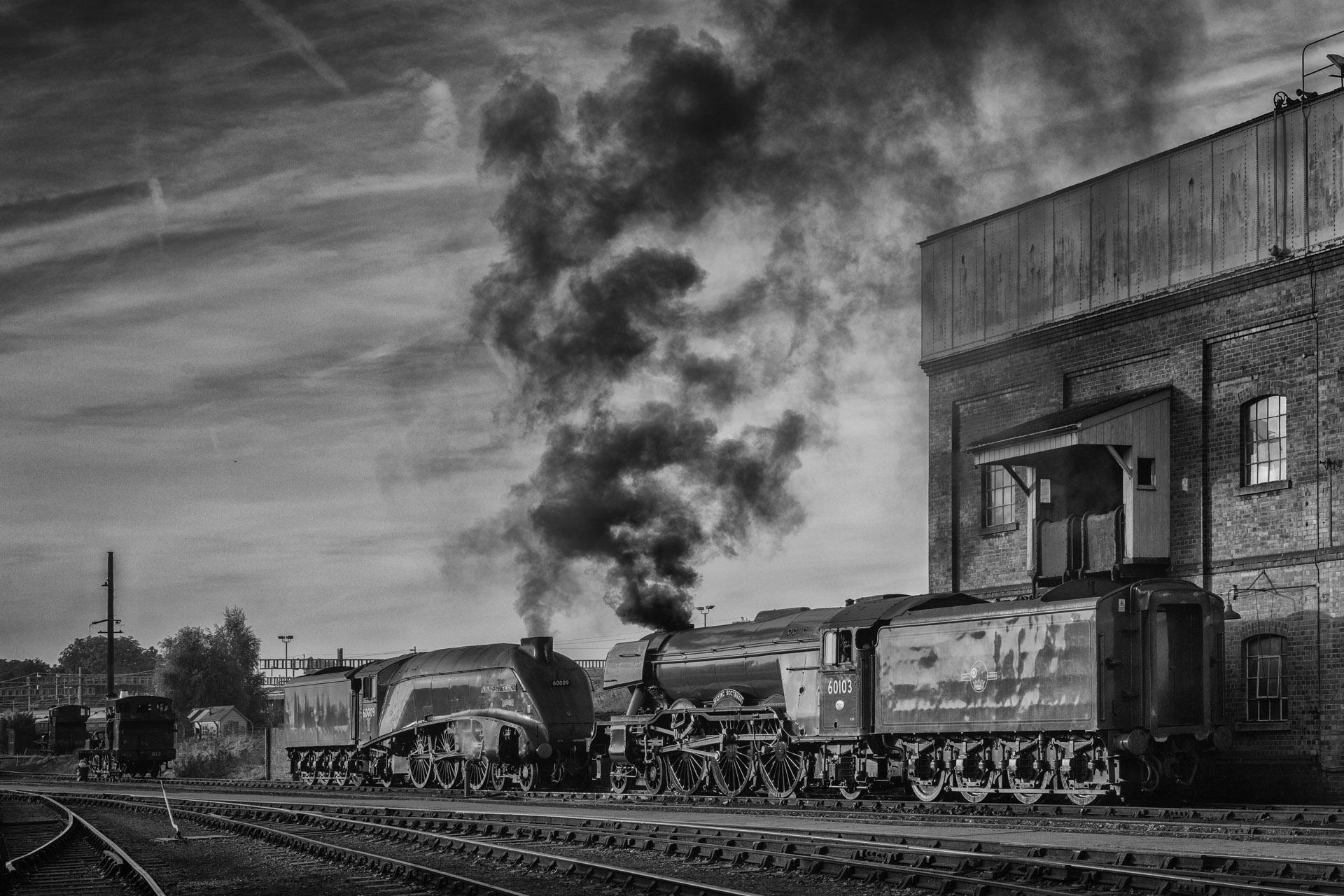 Vintage Steam Trains, England