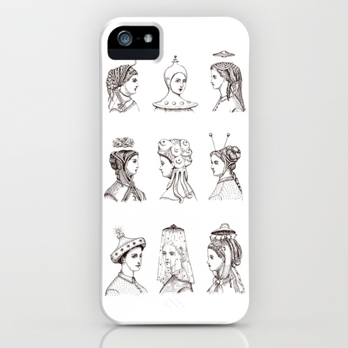 """Victorian U.F.O. Ladies"" Phone Case"