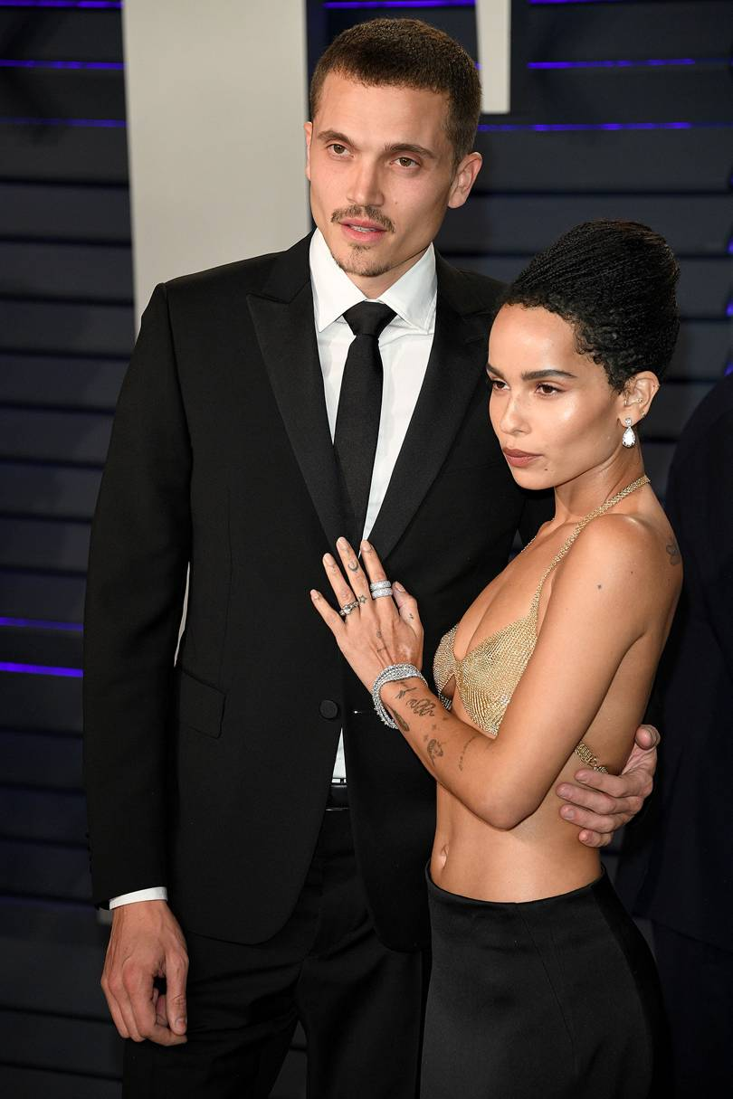 Zoe Kravitz Wearing Her Antique Engagement Ring From The One I Love NYC