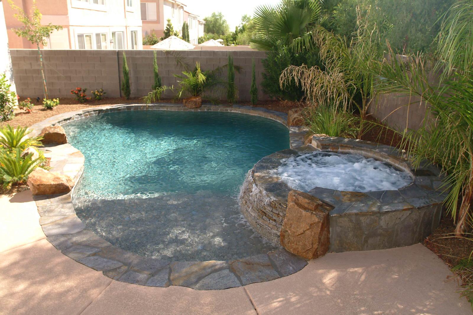 Spools & Small Pools — California Pools