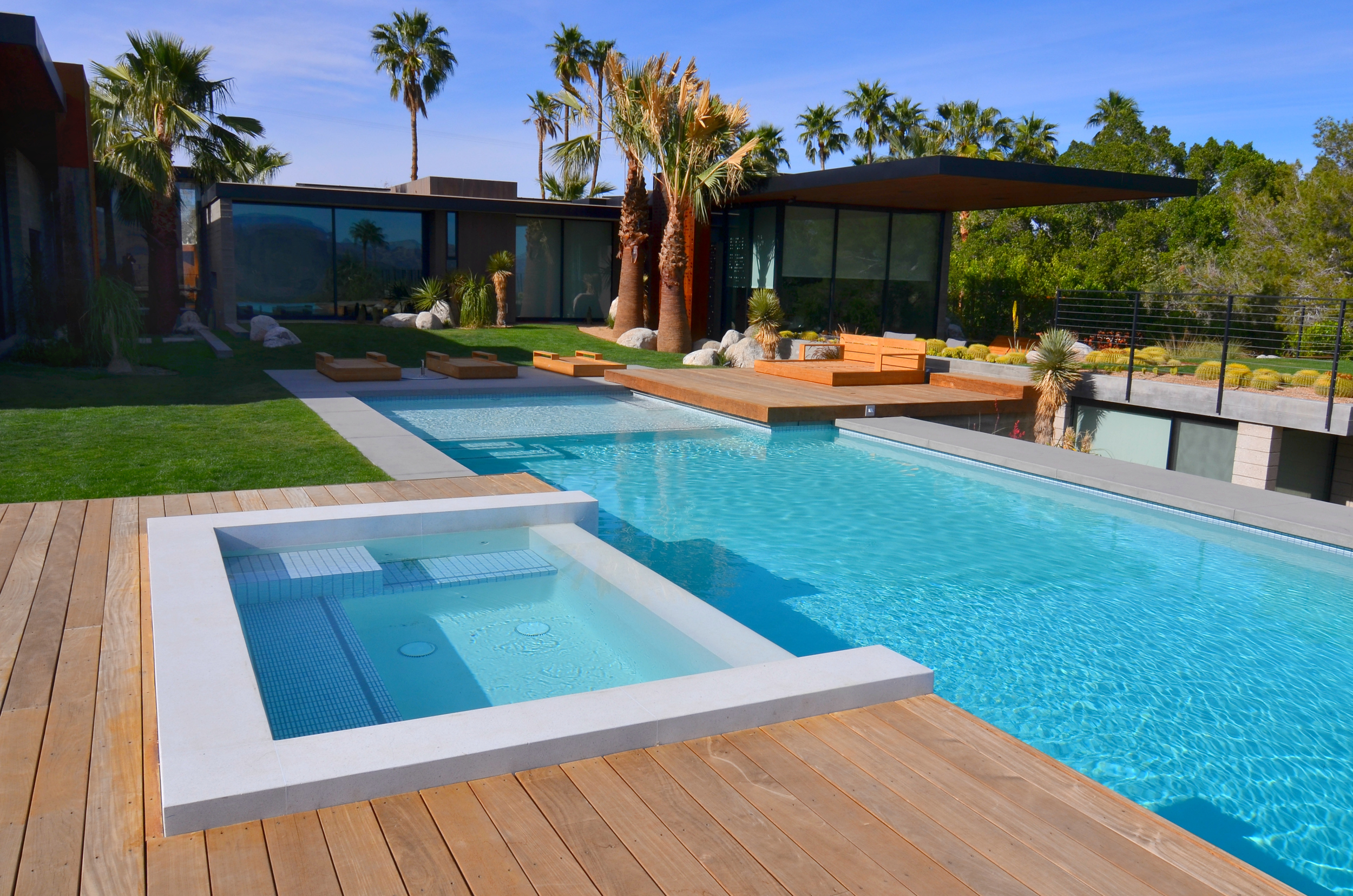 Geometry in Swimming Pool and Spa Building — California Pools
