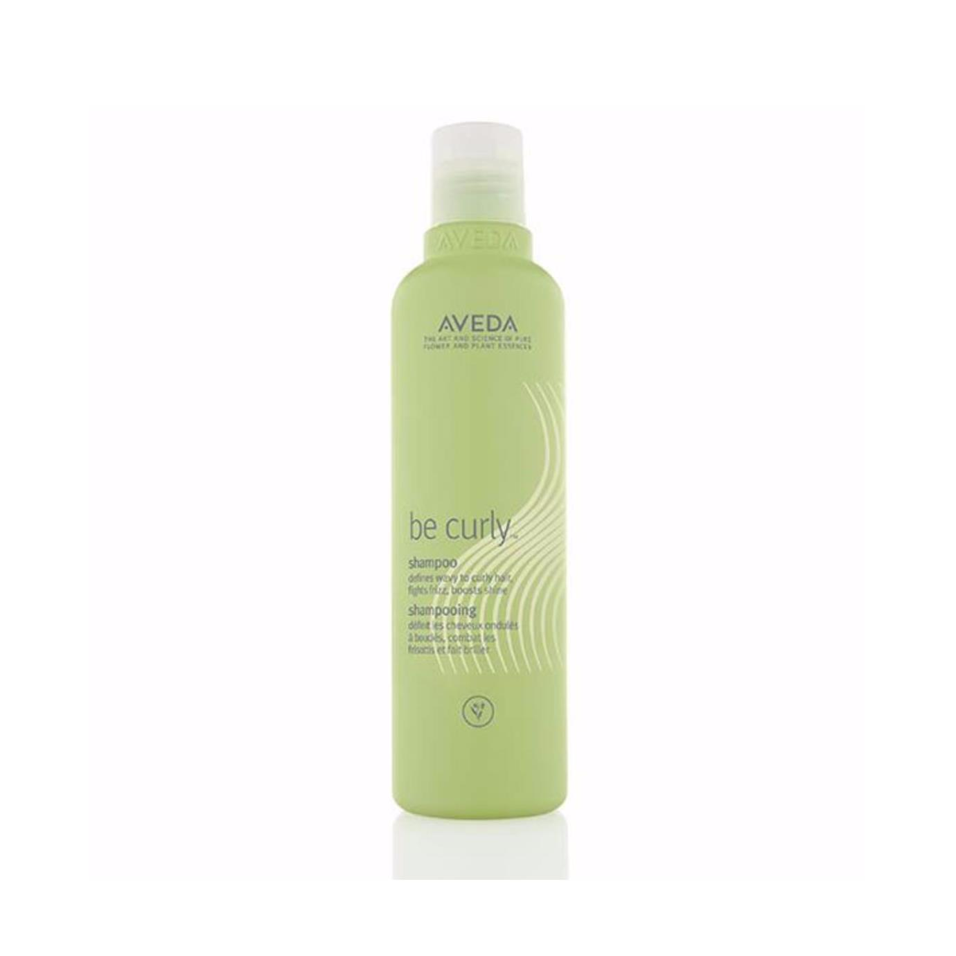 Aveda Be Curly Shampoo $31.50 (250ml)   Gently cleanse your waves or curls—and define them with a wheat protein and organic aloe blend that expands when hair is wet and retracts when hair is dry—taming frizz and increasing shine.  Aveda's own pure-fume aroma with certified organic lemon, bergamot, orange and other pure flower and plant essences.   (purchase in store only)