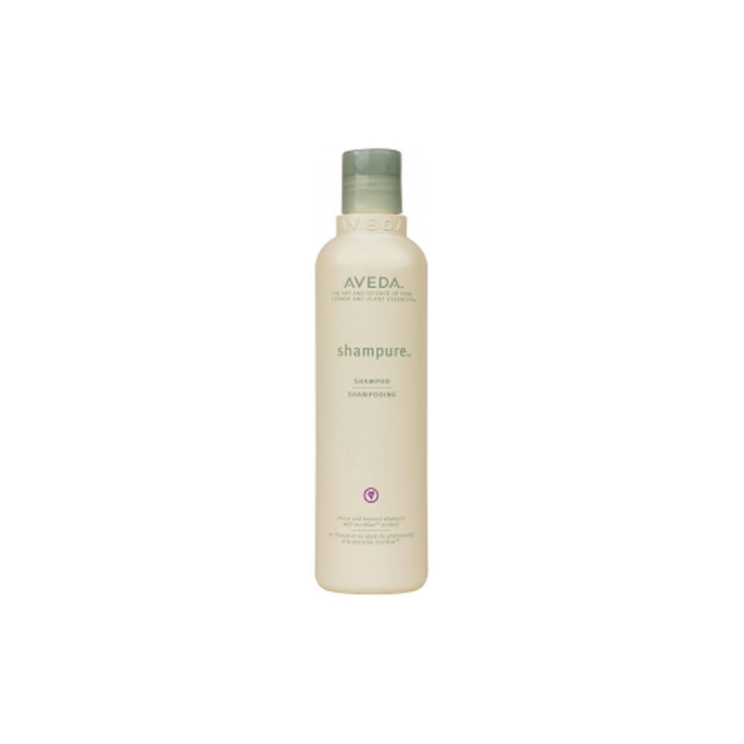 Aveda Shampure Shampoo $ (250ml)   Gently cleanses and provides weightless, long-lasting nourishment while infusing hair with our signature calming aroma with 25 pure flower and plant essences.  Calming shampure™ aroma with 25 pure flower and plant essences - including certified organic lavender, petitgrain and ylang ylang.   (purchase in store only)