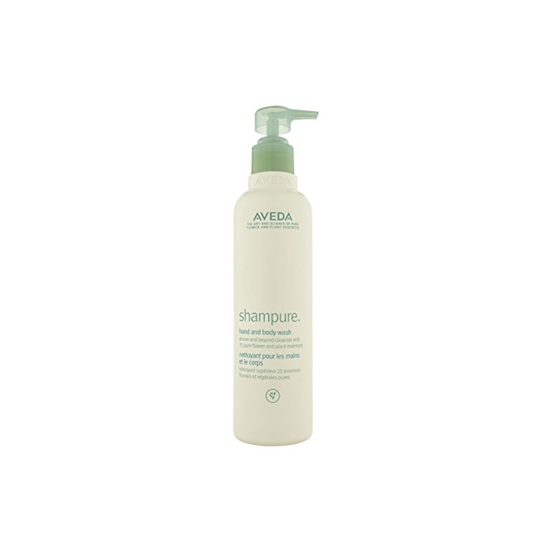 Aveda Shampure Hand and Body Wash $ 200ml   Gently cleanse your skin with this babassu nut-derived cleanser.  Calms the senses with an aroma with 25 pure flower and plant essences including certified organic lavender, petitgrain and ylang ylang.   (purchase in store only)