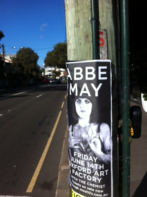 Abbe May Pole Poster