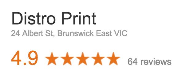 distro print google reviews