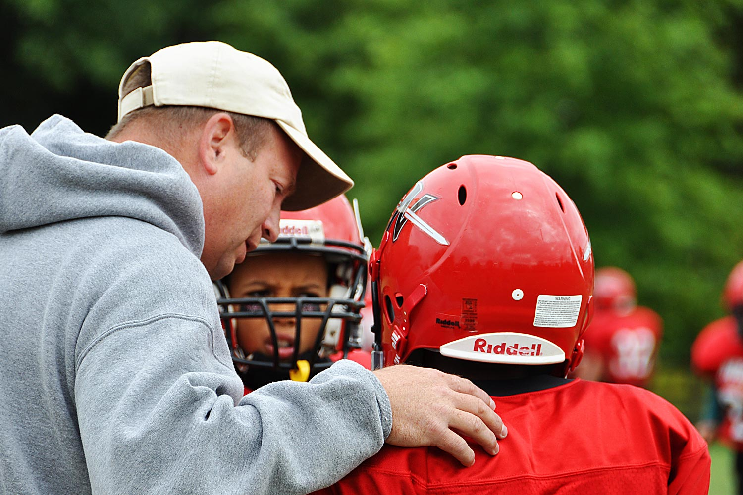 Coach for Norchester Red Knights 120 lb Football Team