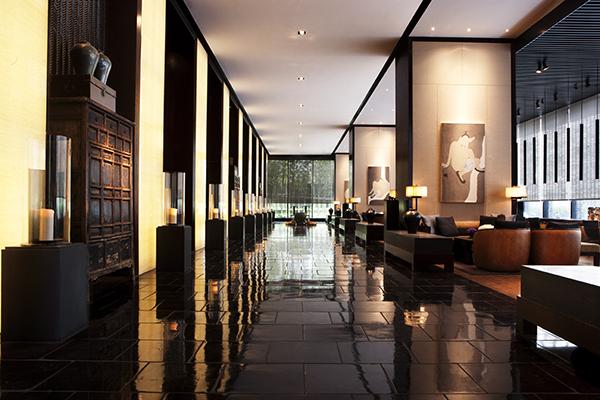 PuLi Hotel Entrance Lobby