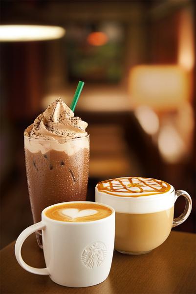 Group coffee shot