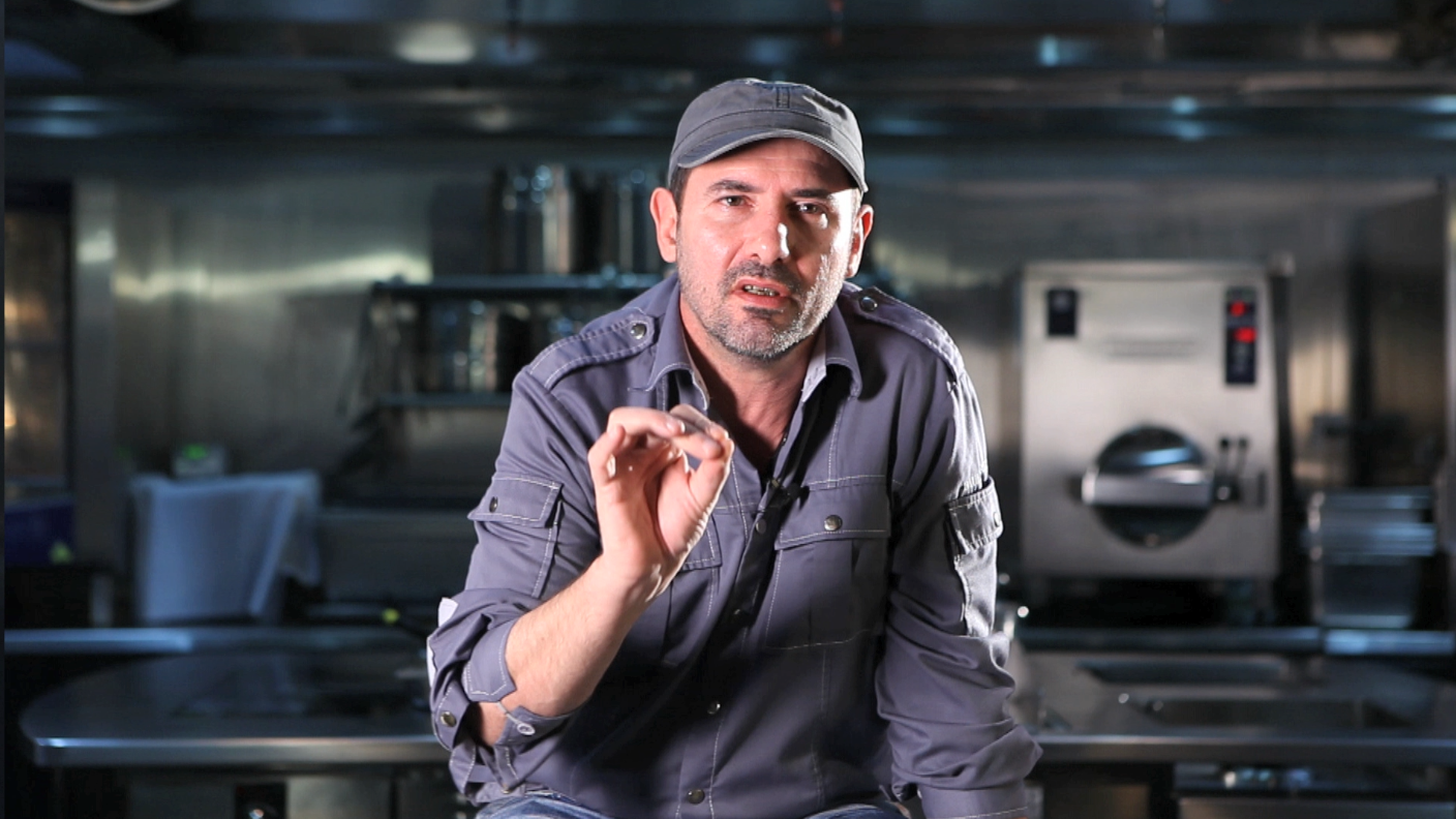 Chef Paul Pairet, Creator of Ultraviolet