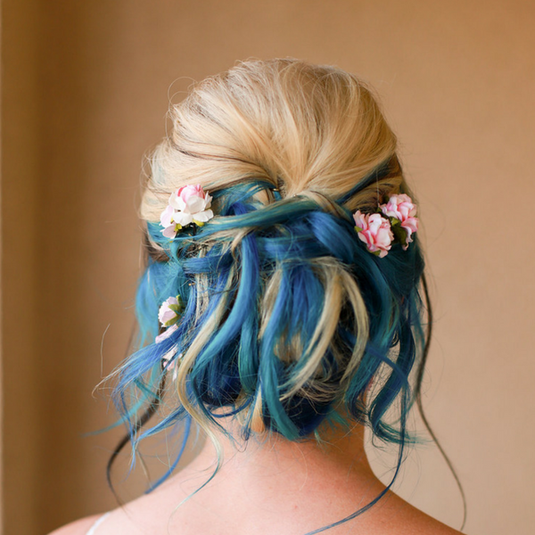 Unique Bride Hairstyle