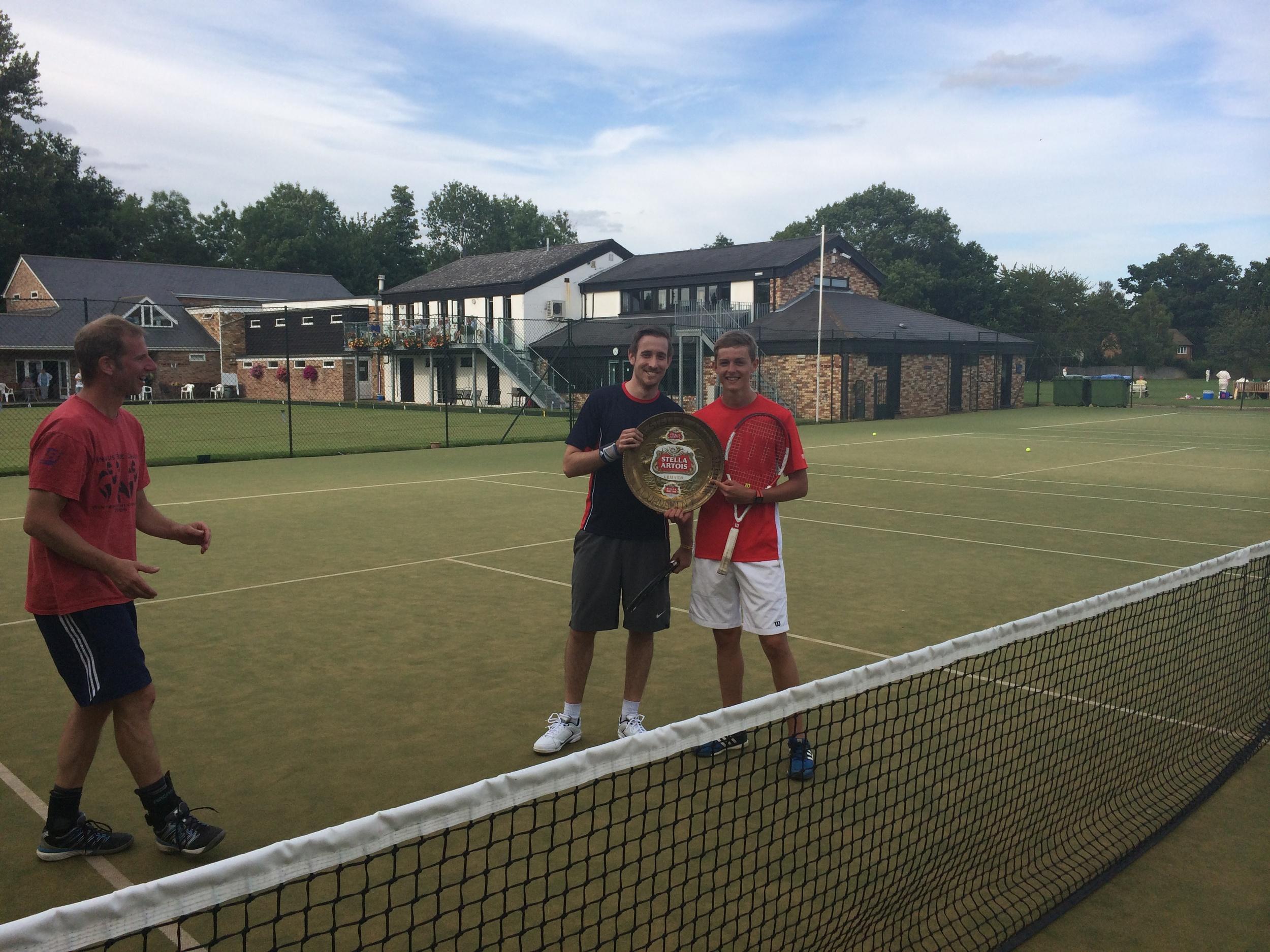 Winners: Alex and Bradley