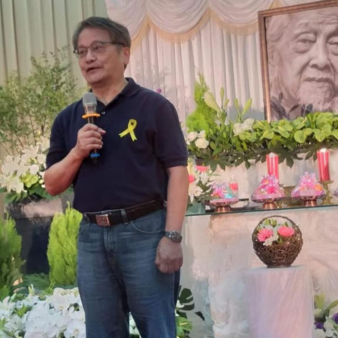 葉治平 Yeh Chin-Ping, former director of NATPA (Photo courtesy of:   林啟生  )