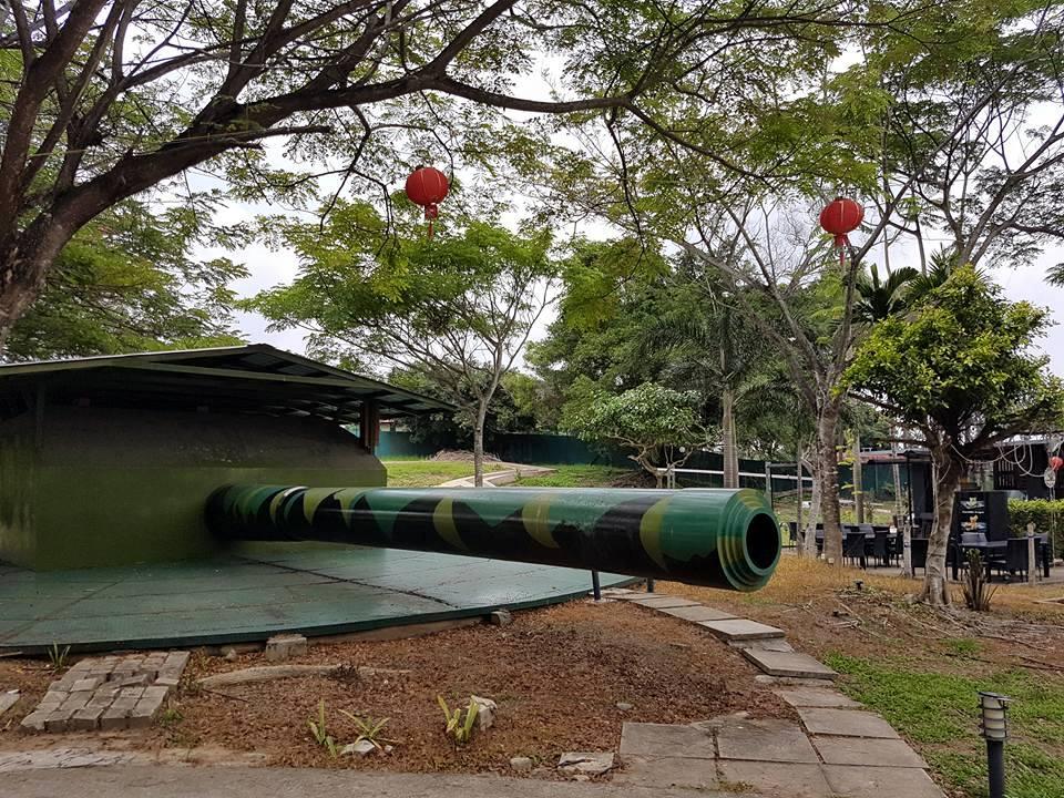 Johor Battery - Singapore 60th Historic Site.