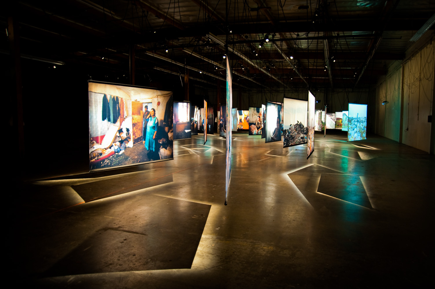 Click  HERE  to listen to Shirley Jahad's KPCC/NPR news story about this exhibit.