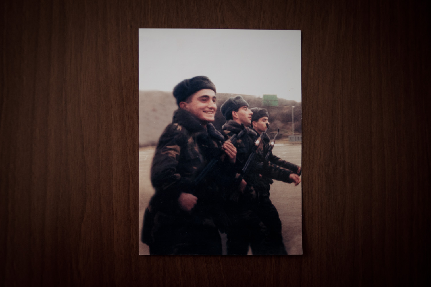 Nana's son Valery loved being a soldier. The family had decided to leave Armenia after his military service but Valery had convinced them to stay so that he could become a contract officer.