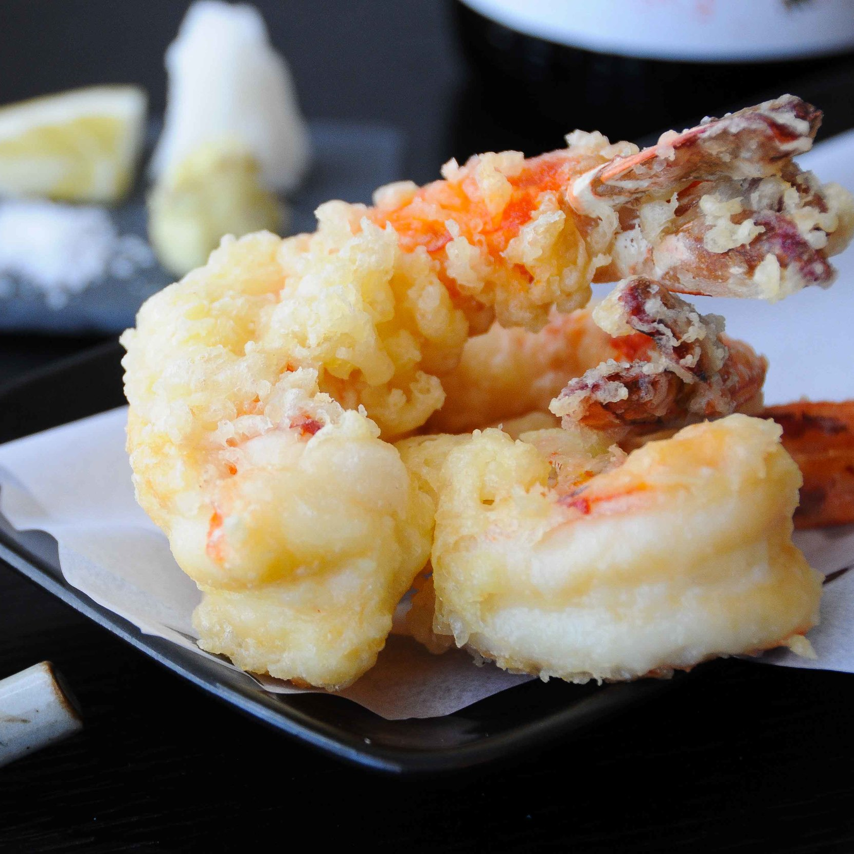 Shrimp Tempura with Tentsuyu