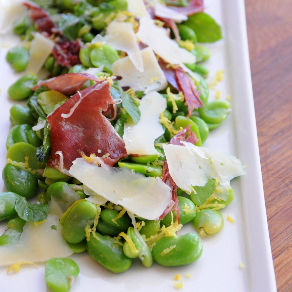 Broad Bean Bellota Salad