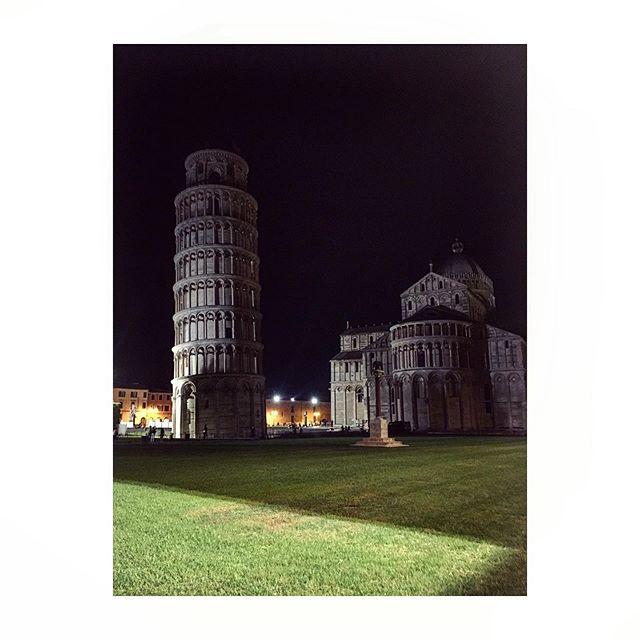 Midnight tower tourist