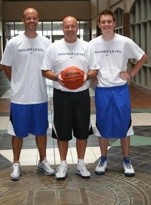 Camp Founder Stan Daugherty and his sons Travis and Trevor