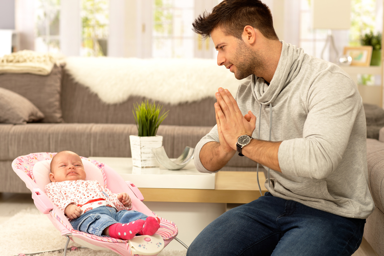 Du skal bli pappa