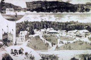 Hankø Bad på 1800-tallet