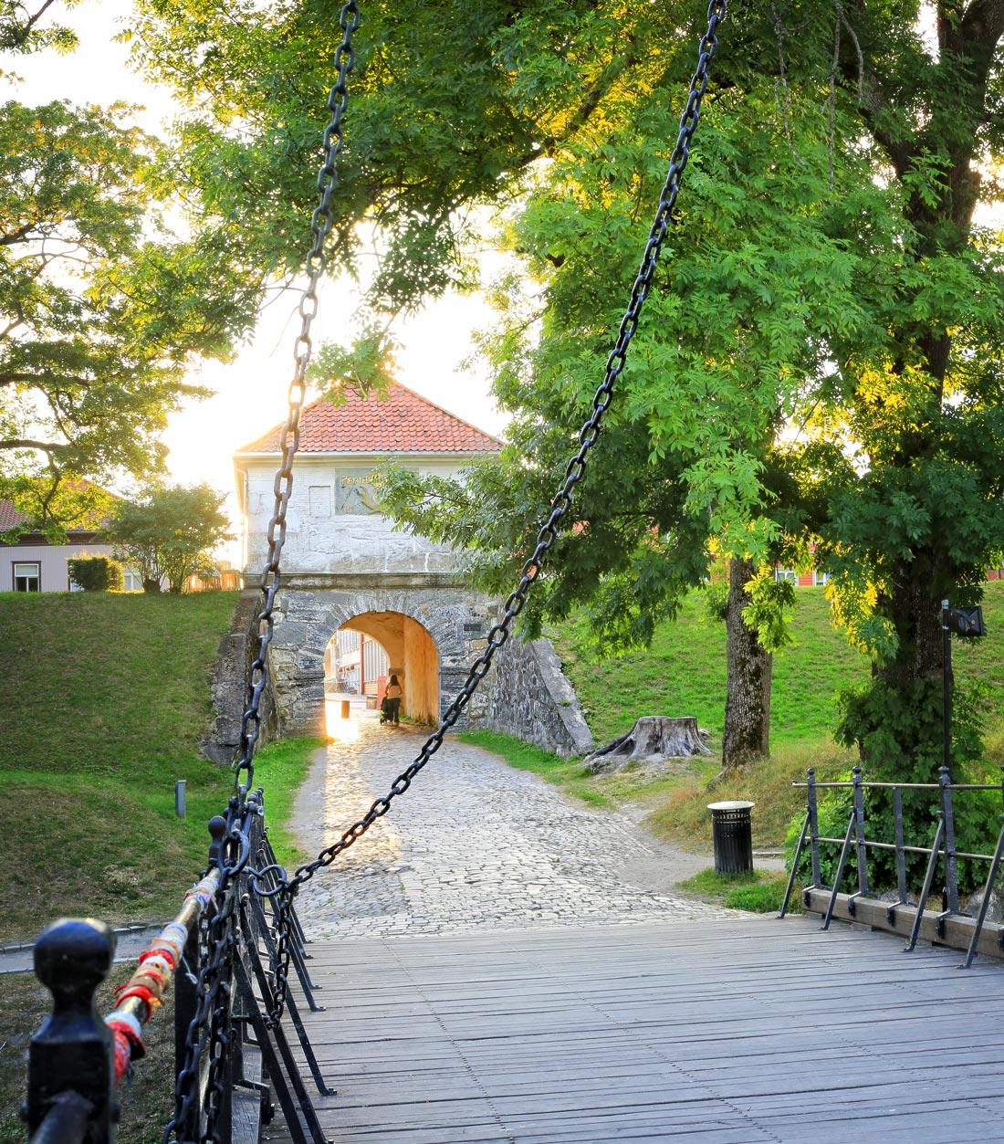 Voldporten gamlebyen Fredrikstad