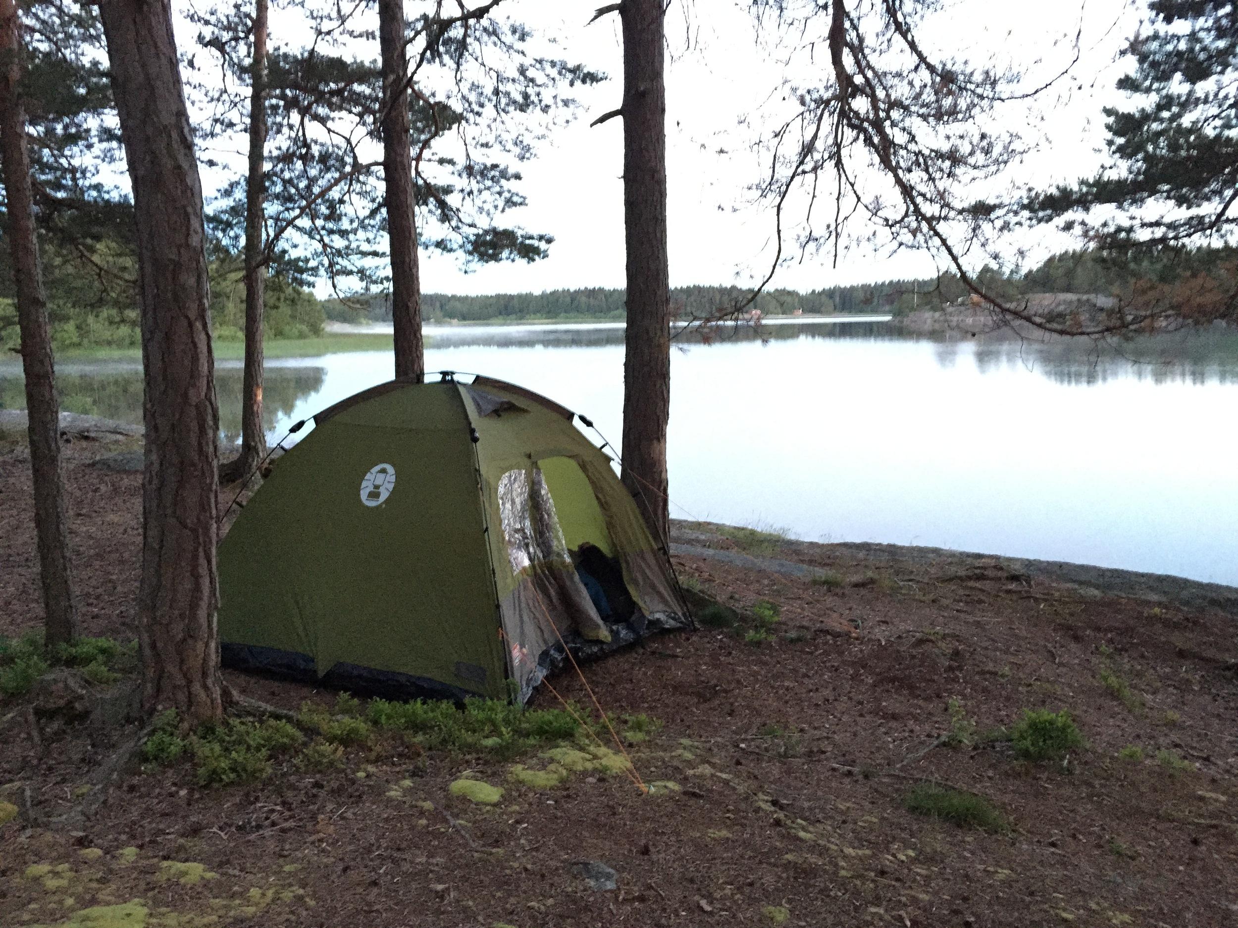 FREDRIKSTAD & HVALER —Telt og friluftsliv