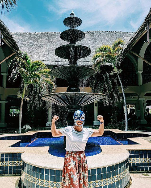 Adios Mexico. ☀️ 🇲🇽 #reymysterio