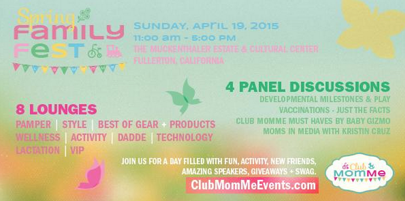 Stop by the Style Lounge atSpring Family Fest,and shop exclusive savings from The Giving Child this weekend!
