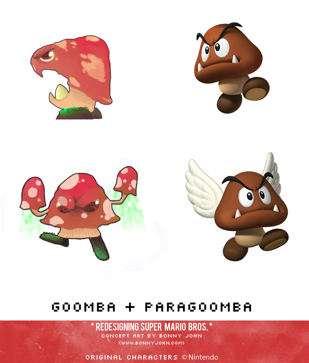 Goomba and Paragoomba Redesign Comparison.png