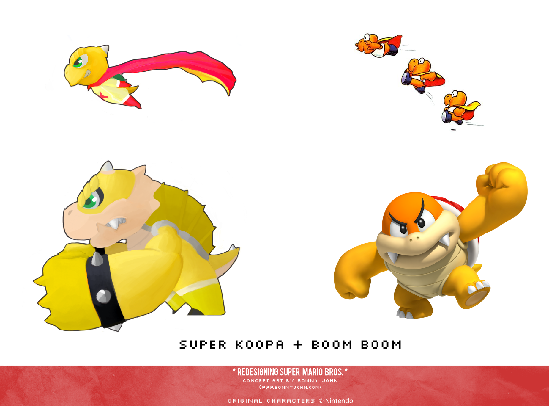 Super Koopa and Boom Boom Redesign Comparison.png