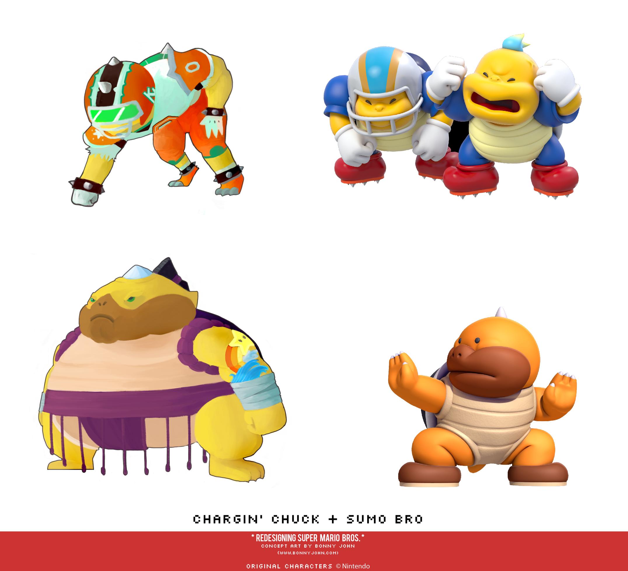 Chargin' Chuck and Sumo Bro Redesign Comparison - Copy.png