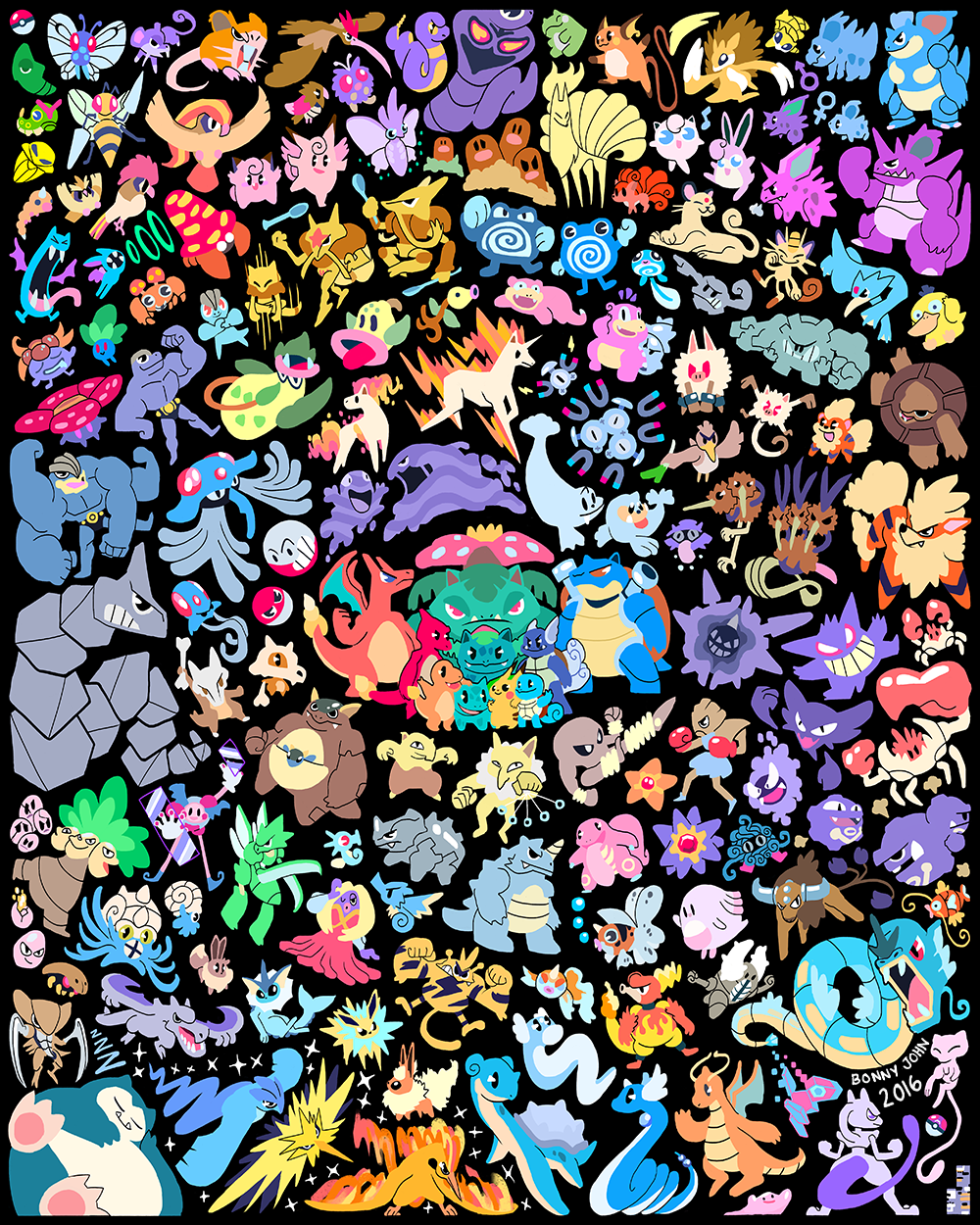 151 Pokemon 20th Anniversary by Bonny John.png