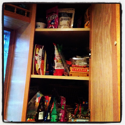 The cupboard of death (and delight)!