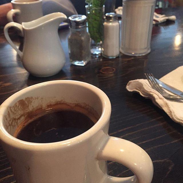 Walla Walla BREAKFASSSSSST #coffeetime