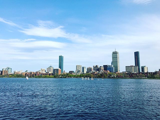 Evening stroll through #Boston. This city is beautiful.