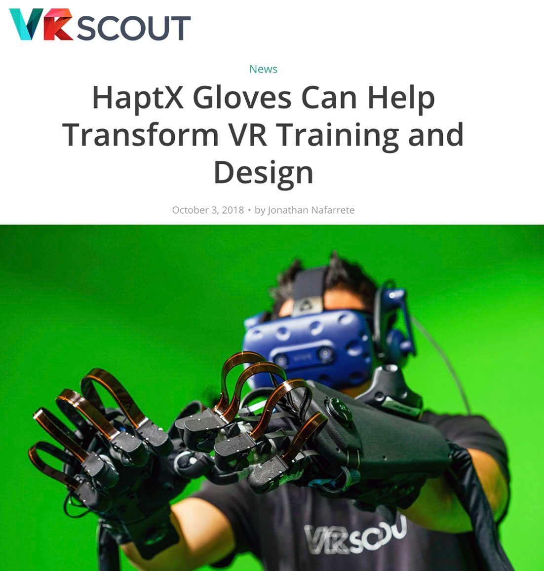 """In the short preview I was able to experience, you couldn't help but think about where realistic and immersive haptic technology is headed in the future."""