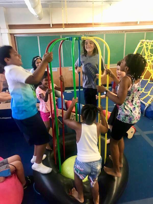 Kids at play.
