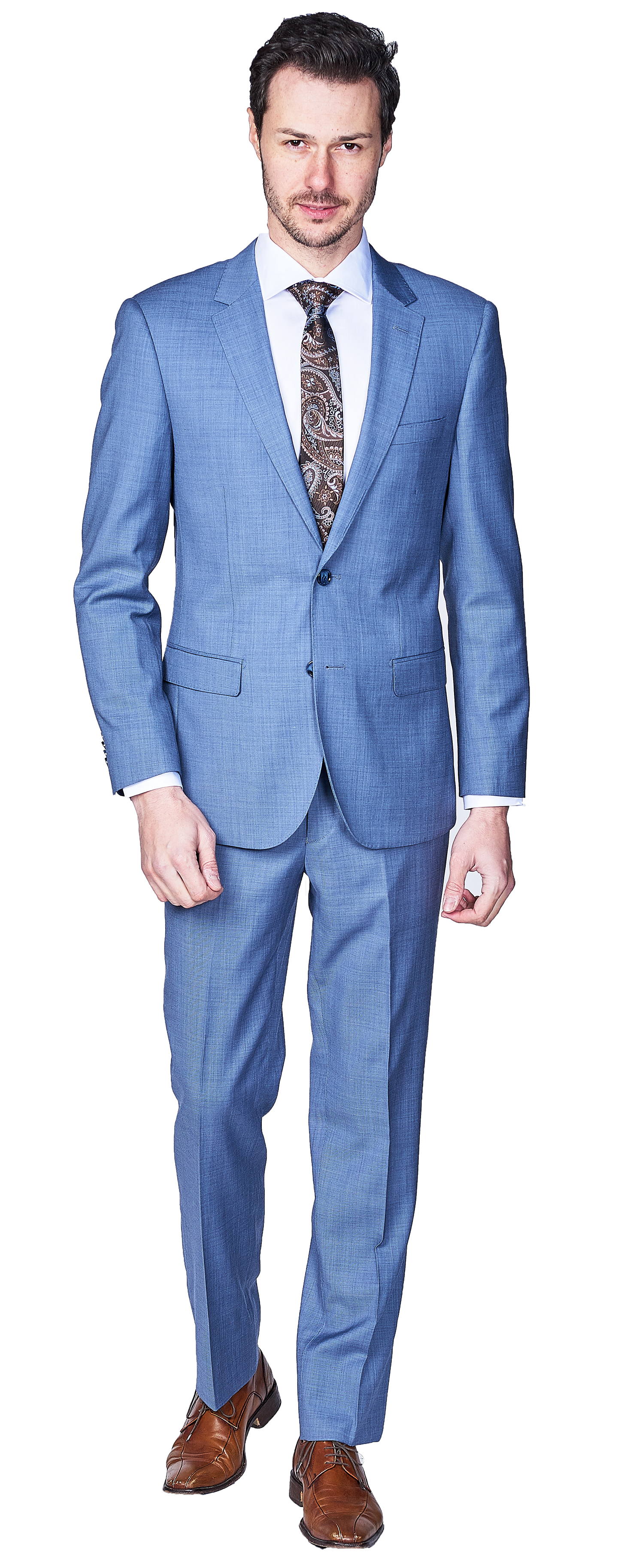 Giovanni Bresciani Lite Blue Sharkskin SuitGB-261$850.00 USD.png