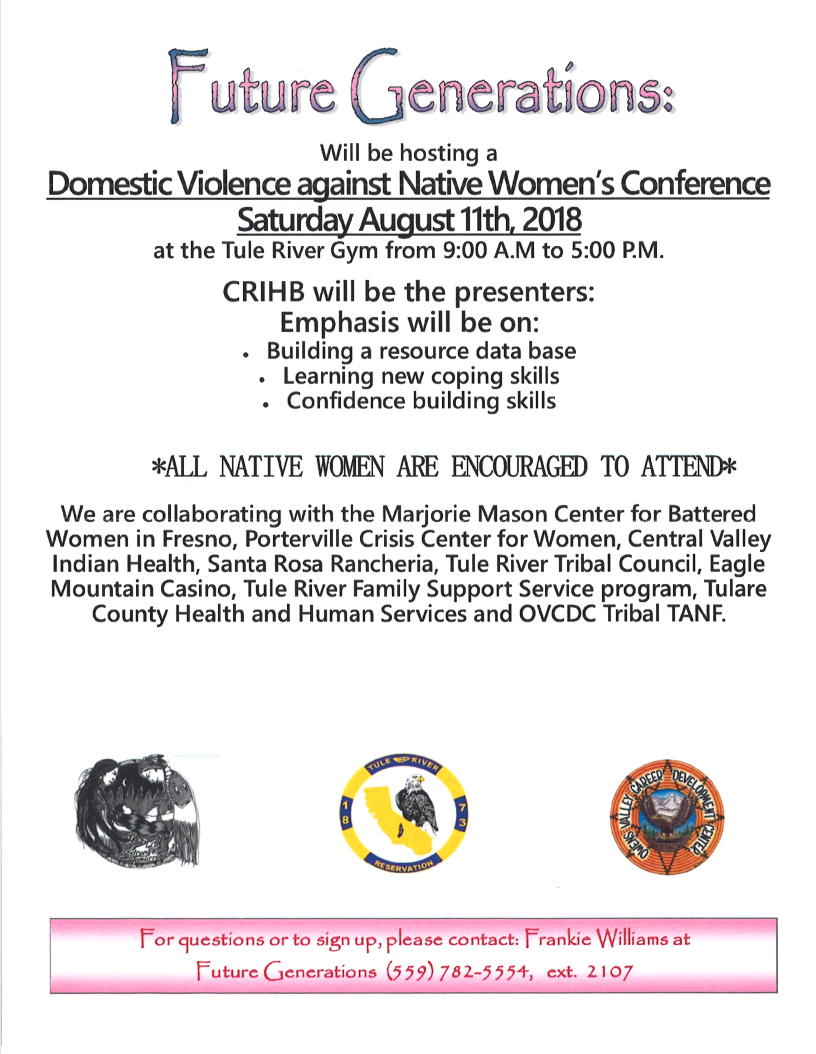 DomesticViolenceAgainstNativeWomen'sConference_Flier.PNG