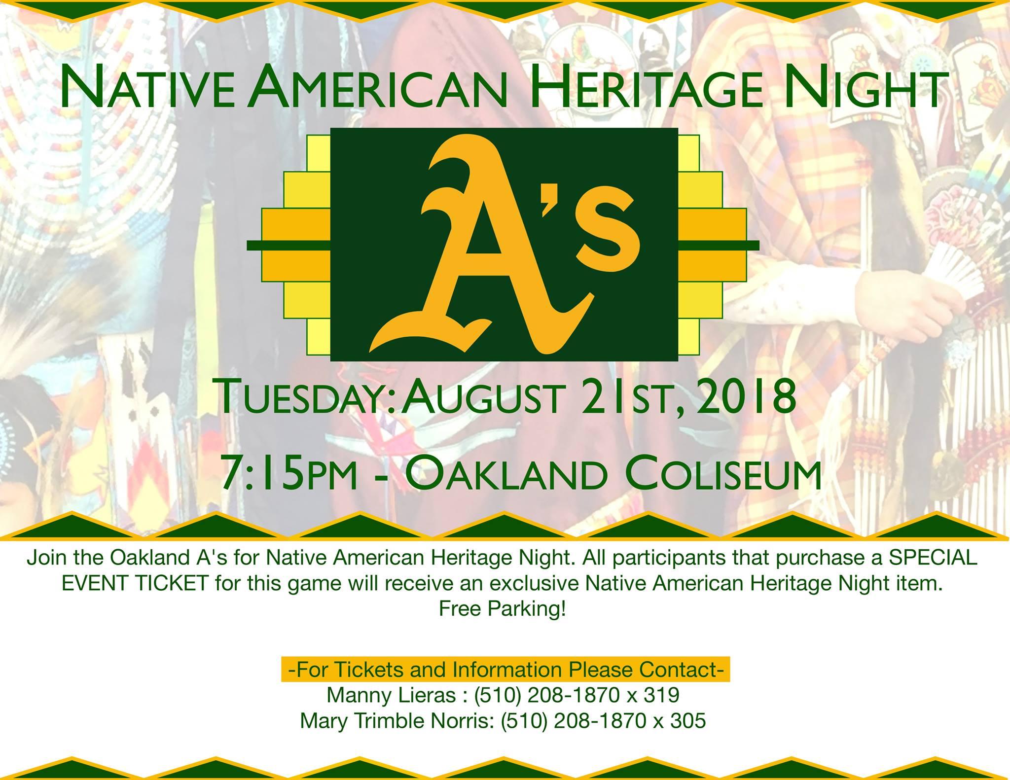 OaklandA_Native American Heritage Night_Flier.jpg
