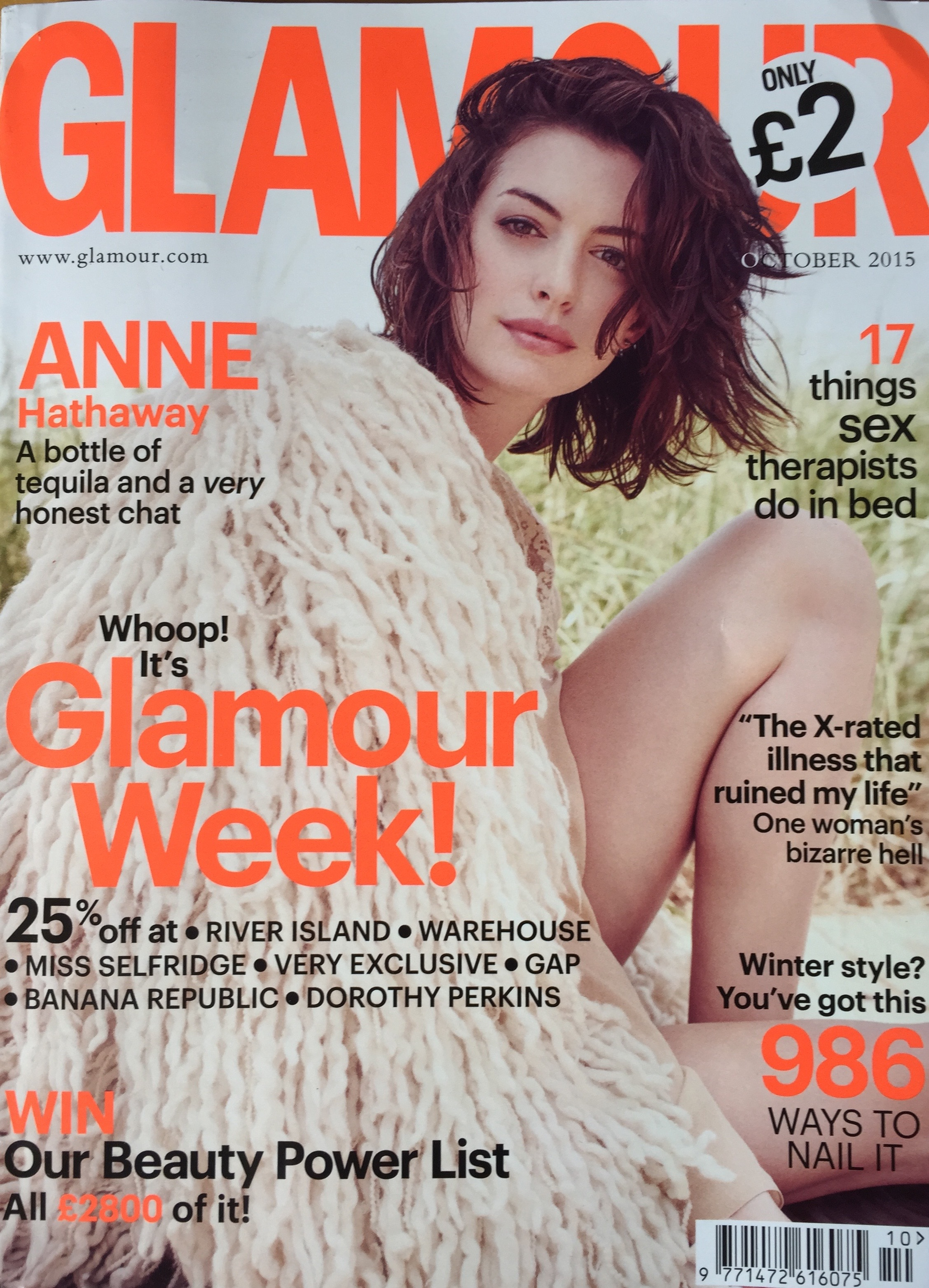 Stackable NU Rings featured in October Glamour UK